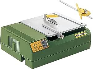 プロクソン(PROXXON) ミニサーキュラソーテーブル 小型卓上丸鋸盤 薄板材の精密切断に最適  No.28006