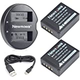 NP-W126S/NP-W126 Newmowa Battery (2-Pack) and Dual USB Charger for Fujifilm NP W126S/NP W126 Fujifilm FinePix X-Pro1 X-Pro2 H