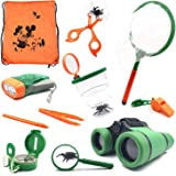 SODIAL Outdoor Kit Toys for Kids - Set of 12 Adventure Kid Camping Exploration Toys, Outdoor Explorer Kit for Kids, Camping T
