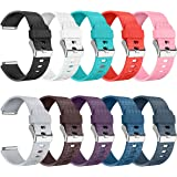 Fitbit Blaze Bands, Fitbit Blaze Watch Replacement Band Accessories Wristband Small Large for Women Men Girls Boys, No Tracke
