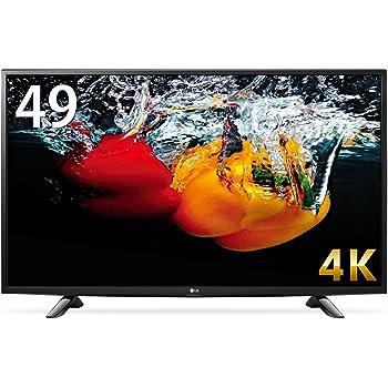 LG 49V型 液晶 テレビ  49UH6100 4K対応 HDR対応 IPS4Kパネル 直下型LEDバックライト スリムボディ 外付けHDD録画対応 Wi-Fi内蔵  (2016年モデル)