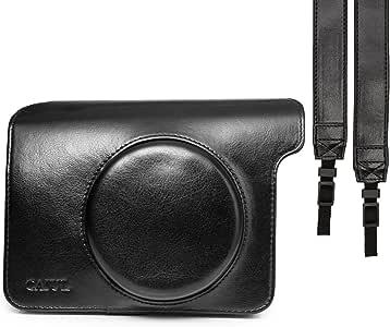 CAIUL FUJIFILM インスタントカメラ チェキWIDE instax WIDE 300 専用カメラケース チェキ instax WIDE 300用カメラケース(ブラック)