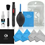 CamKix Professional Camera Cleaning Kit for DSLR Cameras- Canon, Nikon, Pentax, Sony - Cleaning Tools and Accessories (with O