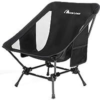Moon Lence アウトドアチェア より安定 キャンプ椅子 低い 軽量 折りたたみ コンパクト ハイキング お釣り…