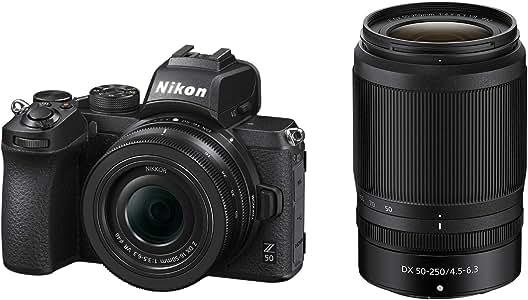 Nikon ミラーレス一眼カメラ Z50 ダブルズームキット NIKKOR Z DX 16-50mm+NIKKOR Z DX 50-250mm付属 Z50WZ