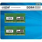 CFD販売 ノートPC用メモリ PC4-19200(DDR4-2400) 4GB×2枚 260pin / 無期限保証 / Crucial by Micron / W4N2400CM-4G