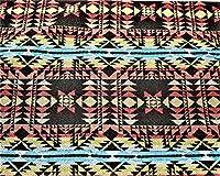 Luna Corazon ハンドメイド ジャガード織り ネイティブ柄 カット生地 手作り DIY 生地 幅 150cm (C柄 150cm)