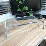Clear Acrylic Stand for Computer Laptop TV, Display Risers, Jewelry Display Stand, Figure Showcase, Clear Dessert Table