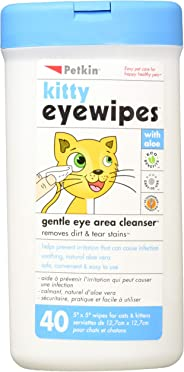 Petkin Kitty Eyewipes