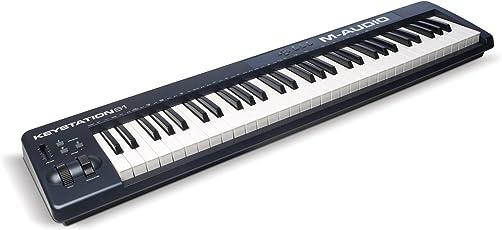 M-Audio USB MIDIキーボード 61鍵 ピアノ音源ソフト付属 Keystation 61