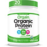 Orgain Organic Plant Protein Powder Natural Unsweetened