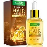 Hair Growth Serum - Biotin Hair Regrowth Oil Prevent Hair Loss and Natural Serum for Thicker, Stronger, Longer Hair Men and W