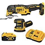 DEWALT DCK202P1 20V MAX* XR Brushless Cordless 2-Tool Woodworking Kit (Sheet Sander & Multi-Tool)