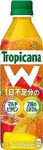 トロピカーナ W オレンジブレンド 500mlPET ×24本