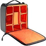 Neewer® Flexible Partition Camera Padded Bag Insert Protection Handbag for SLR DSLR Mirrorless Cameras and Lenses,Flash Light