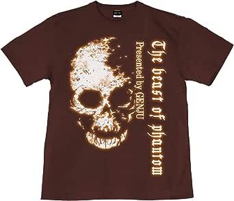 [GENJU] Tシャツ スカル ドクロ 髑髏 ロック系 メンズ キッズ