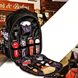 Portable Barber Backpack Makeup Tool Bag Multifunction Travel Backpack Cosmetic Organizer Box Waterproof Storage Bag