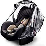 Car Seat Rain Cover,Food Grade EVA,Universal Car Seat Rain,Waterproof, Windproof Protection,Protect from Dust Snow,Rain Cover