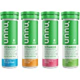 Nuun Vitamins: Vitamins + Electrolyte Drink Tablets, Mixed Fruit Pack, 4 Tubes (48 Servings)