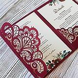 Metal Die Cuts Wedding Invitation Lace Flower Border Cutting Dies Cut Stencils for DIY Scrapbooking Photo Album Decorative Em