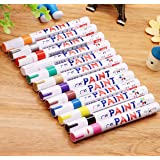 Paint Pens Paint Markers on Almost Anything Never Fade Quick Dry and Permanent, Oil-Based Waterproof Paint Marker Pen Set for