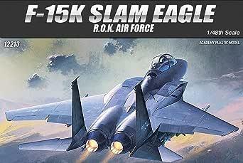 アカデミー 1/48 F-15K 韓国空軍 スラムイーグル プラモデル