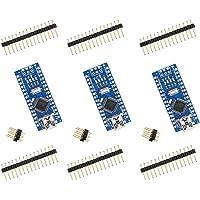 ELEGOO Arduino用 Nanoボード V3.0 CH340/ATmega328P、Nano V3.0互換 (3…
