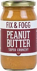 Fix and Fogg Super Crunchy Peanut Butter, 375g