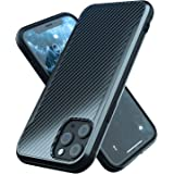 iPhone 11 Pro Case | Shockproof | 12ft. Drop Tested | Carbon Fiber Case | Wireless Charging | Lightweight | Scratch Resistant