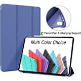 Oribox Case for iPad Pro 1st 11''(2018), Lightweight Trifold Stand Smart Cover with Auto Sleep/Wake Function, Soft TPU Back C