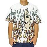 GALFY[ガルフィー] ヤンキー 炎上 夜露死苦 Tシャツ/半袖/メンズ/レディース/192001