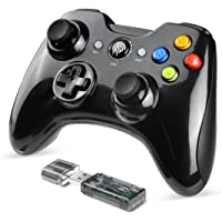 EasySMX KC-8261 PS3/PCゲームパッド ワイヤレス パソコンゲーミングコントローラー 双重振動 Win…