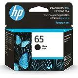 HP 65   Ink Cartridge   Black   Works with HP DeskJet 2600 Series, 3700 Series, HP ENVY 5000 Series, HP AMP 100, 120, 125, 13