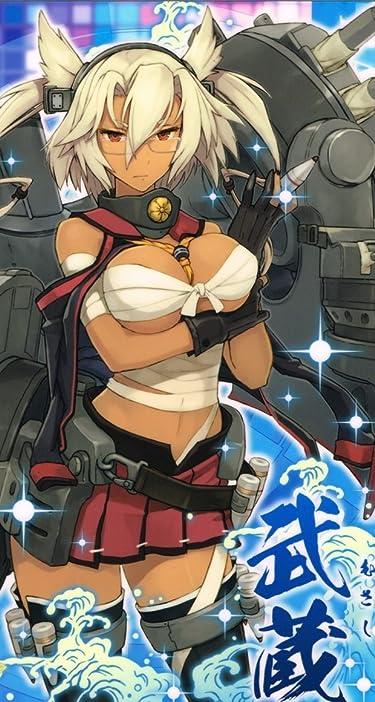 艦隊これくしょん~艦これ~  iPhone/Androidスマホ壁紙(744×1392)-1 - 武蔵(むさし)