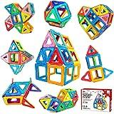 Jasonwell マグネットブロック 42pcs 磁気おもちゃ マグネットおもちゃ 磁石ブロック 子供 知育玩具 幼児 に 人気 の おもちゃ 女の子 おもちゃ 日本語バッケージ 磁石玩具 立体パズル ゲーム モデルDIY 積み木 ブロック おもち