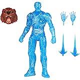 Hasbro Marvel Legends Series 6-inch Hologram Iron Man Action Figure Toy, Premium Design and Articulation Includes 2 Accessori