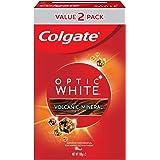 Colgate Optic White Volcanic Minerals Whitening Toothpaste 100g x 2 Valuepack