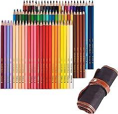 色鉛筆 72色 収納ケース付き 油性色鉛筆 アート 子供と大人の塗り絵やプレゼント用 携帯便利