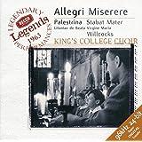 Allegri: Miserere; Palestrina / Willcocks, Kings College Choir