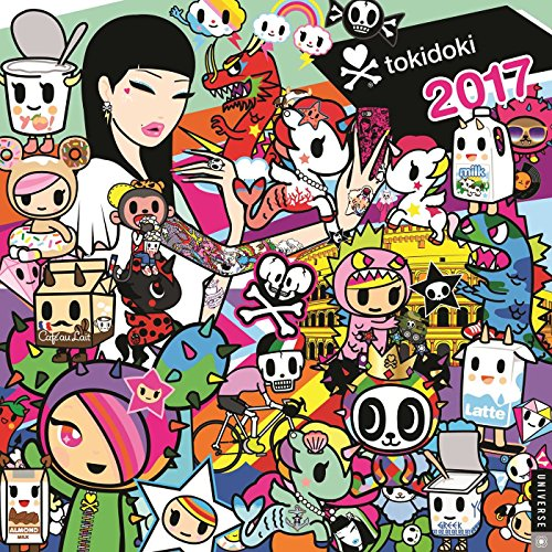tokidoki 2017 Wall Calendar (Square Wall)