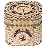 ROBOTIME Treasure Box 3D Wooden Puzzle Adult Craft Set for Self-Assembly Ideal Women Gift