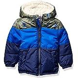 Osh Kosh Boys' Toddler Heavyweight Winter Jacket W/Sherpa Lining
