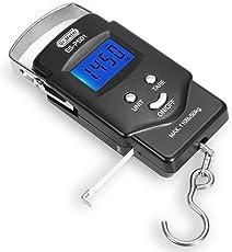 Dr.meter 吊りはかり 荷物はかり デジタルスケール 旅行 携帯 アウトドア 軽量 1mテープ 50kg バックライト付