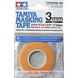 タミヤ メイクアップ材シリーズ マスキング No.208 マスキングテープ 3mm 87208