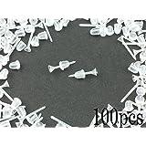 樹脂ピアス パーツ シリコンキャッチ 付 50ペア 100個 ポストピアス (AP0046)