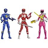 Power Rangers Beast Morphers Special Episode 3-Pack Action Figure Toys Dino Thunder Blue Ranger, Mighty Morphin Red Ranger, D