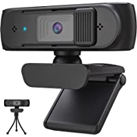ウェブカメラ Webカメラ USBカメラ【500万画素・1080PフルHD ・30fps・自動光補正・ オートフォーカス…