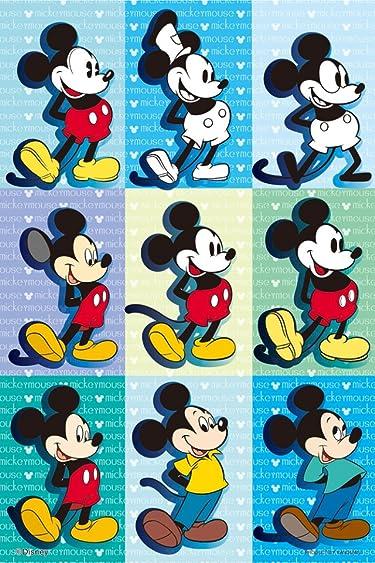 ディズニー  iPhone/Androidスマホ壁紙(640×960)-13 - 歴代ミッキーマウス