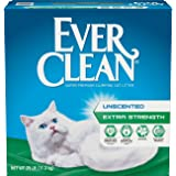 Ever Clean Extra Strength, Clumping Cat Litter, Unscented, 25 Pounds