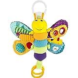 LAMAZE Freddie The Firefly - Clip on Pram & Pushchair Newborn Baby Toy, Sensory Toy, Christmas Gift for Babies Boys & Girls F